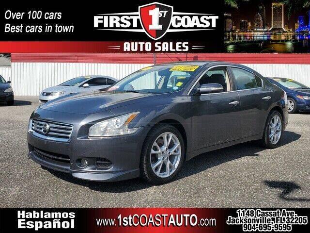 2012 Nissan Maxima for sale at 1st Coast Auto -Cassat Avenue in Jacksonville FL