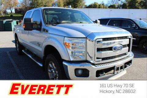 2012 Ford F-250 Super Duty for sale at Everett Chevrolet Buick GMC in Hickory NC