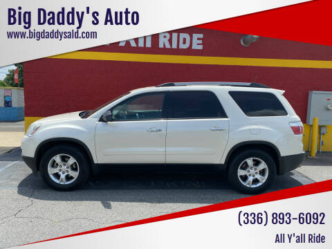 2011 GMC Acadia for sale at Big Daddy's Auto in Winston-Salem NC