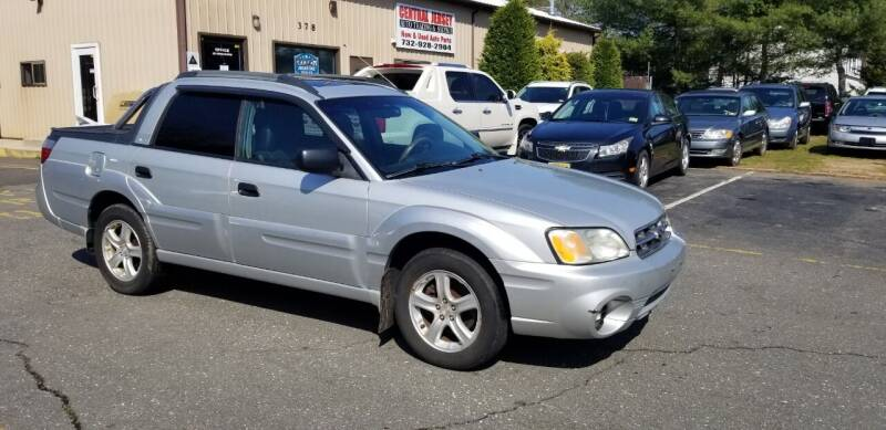 2006 Subaru Baja for sale at Central Jersey Auto Trading in Jackson NJ