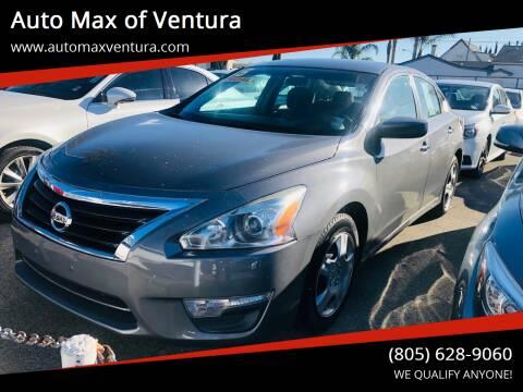 2015 Nissan Altima for sale at Auto Max of Ventura in Ventura CA
