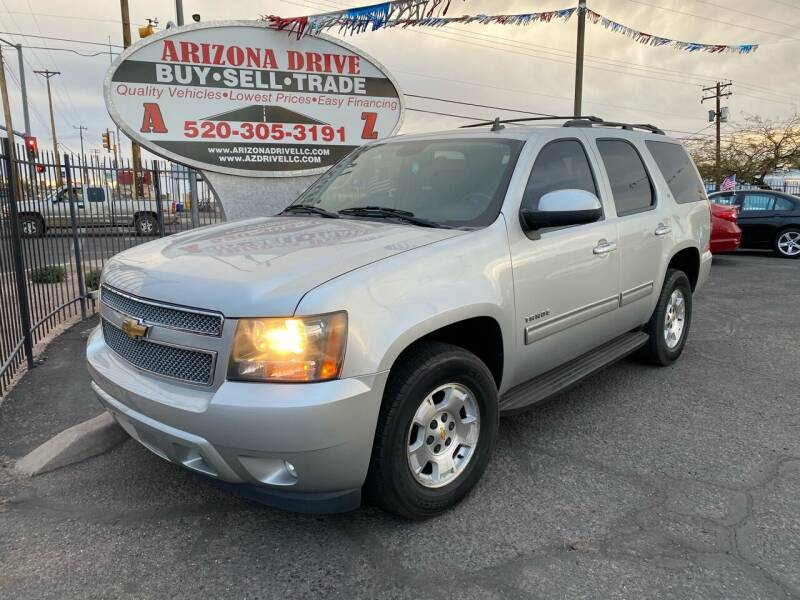 2011 Chevrolet Tahoe for sale at Arizona Drive LLC in Tucson AZ