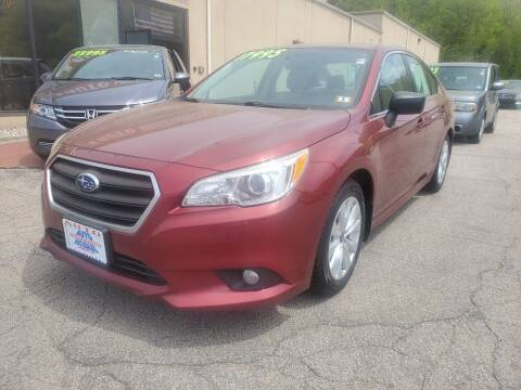 2017 Subaru Legacy for sale at Auto Wholesalers Of Hooksett in Hooksett NH