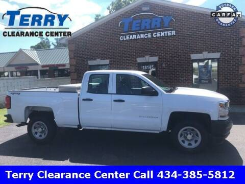 2017 Chevrolet Silverado 1500 for sale at Terry Clearance Center in Lynchburg VA