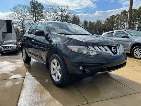 2010 Nissan Murano for sale at Alpha Car Land LLC in Snellville GA