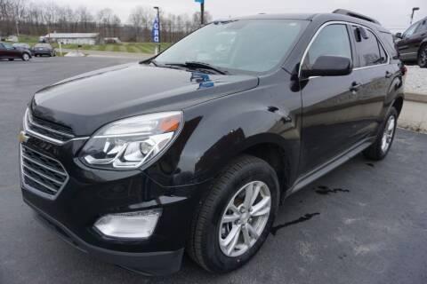 2016 Chevrolet Equinox for sale at MyEzAutoBroker.com in Mount Vernon OH