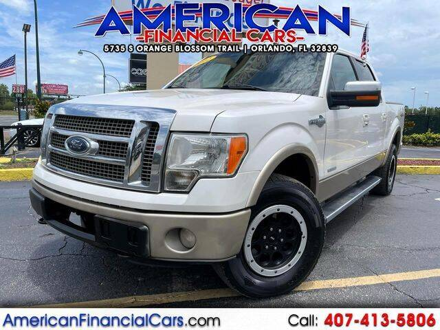 2012 Ford F-150 for sale at American Financial Cars in Orlando FL