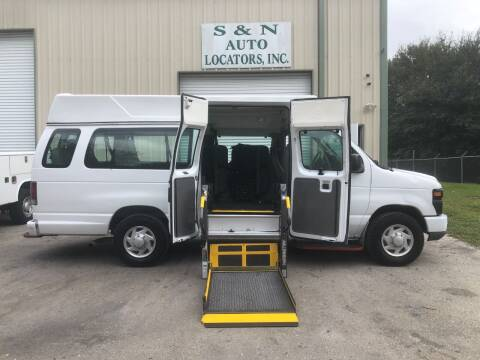 2008 Ford E-Series Cargo for sale at S & N AUTO LOCATORS INC in Lake Placid FL