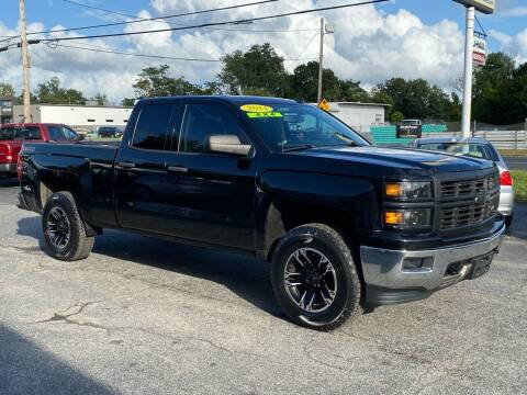 2014 Chevrolet Silverado 1500 for sale at MetroWest Auto Sales in Worcester MA