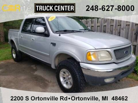 2001 Ford F-150 for sale at Jamie Sells Cars 810 in Ortonville MI