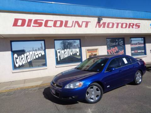 2007 Chevrolet Impala for sale at Discount Motors in Pueblo CO