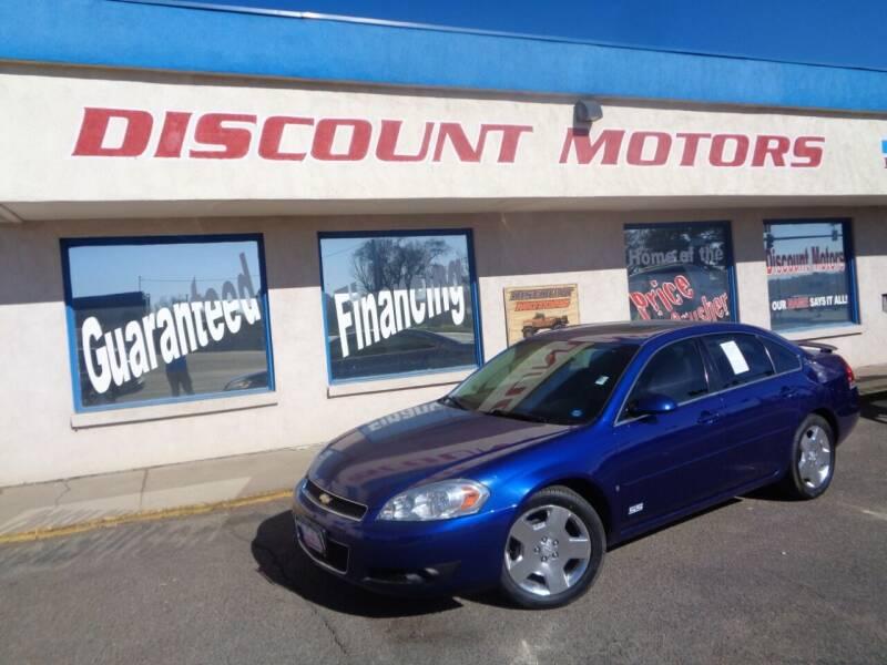 2007 Chevrolet Impala for sale at Discount Motors in Pueblo CO