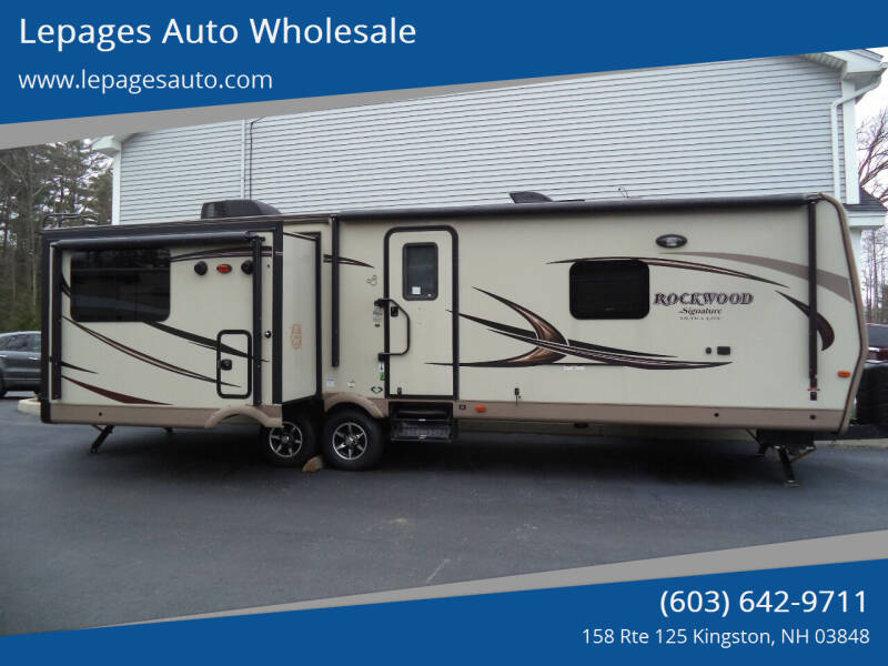 2016 Forest River Rockwood 8329SS for sale at Lepages Auto Wholesale in Kingston NH