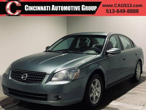 2006 Nissan Altima for sale at Cincinnati Automotive Group in Lebanon OH