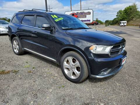 2014 Dodge Durango for sale at ALL WHEELS DRIVEN in Wellsboro PA