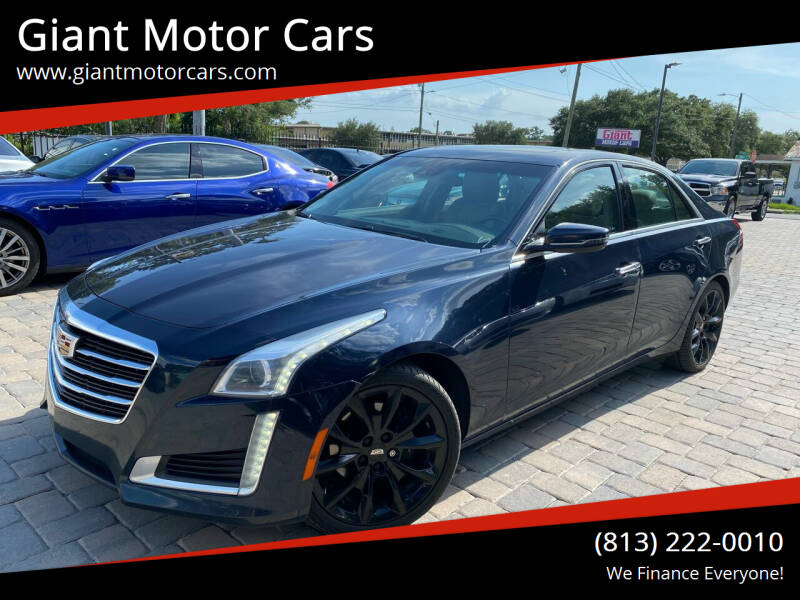 2016 Cadillac CTS for sale at Giant Motor Cars in Tampa FL