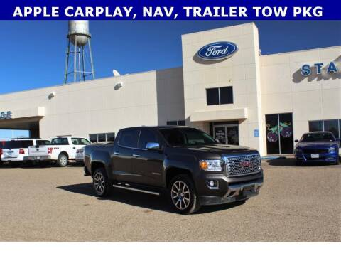 2019 GMC Canyon for sale at STANLEY FORD ANDREWS in Andrews TX