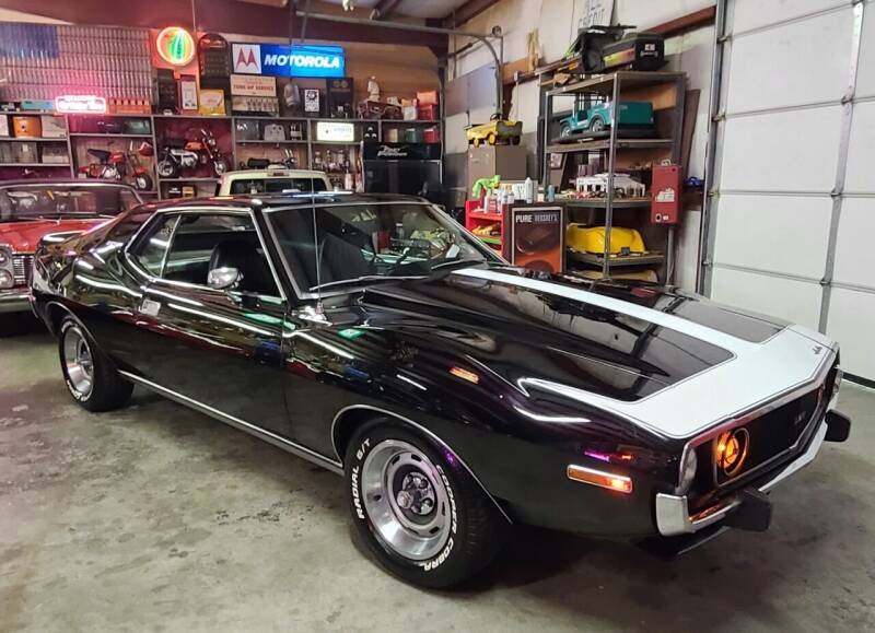 1973 AMC AMX for sale at MILFORD AUTO SALES INC in Hopedale MA
