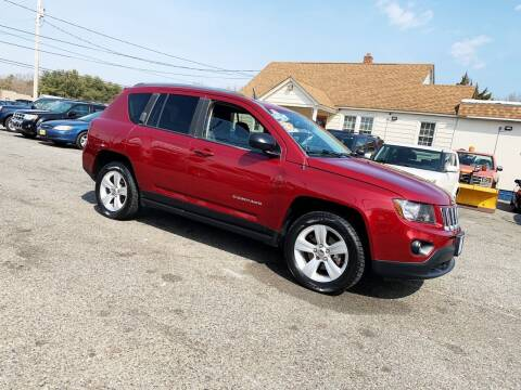 2014 Jeep Compass for sale at New Wave Auto of Vineland in Vineland NJ