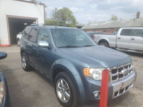 2012 Ford Escape for sale at J & J Used Cars inc in Wayne MI