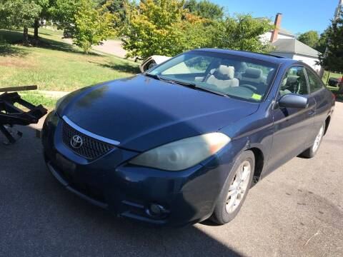 2007 Toyota Camry Solara for sale at Irving Auto Sales in Whitman MA