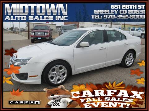 2011 Ford Fusion for sale at MIDTOWN AUTO SALES INC in Greeley CO