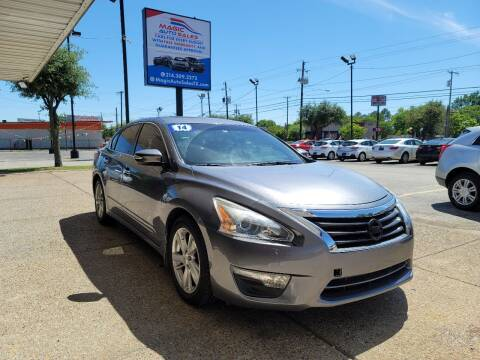 2014 Nissan Altima for sale at Magic Auto Sales in Dallas TX