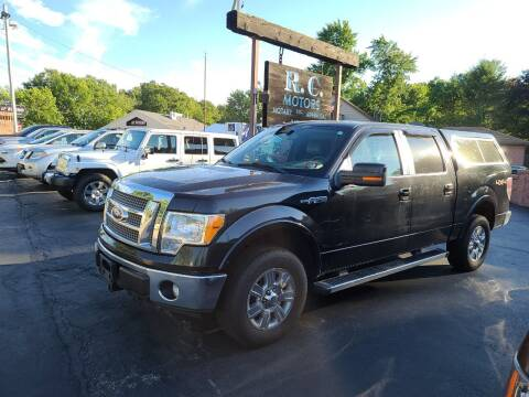 2012 Ford F-150 for sale at R C Motors in Lunenburg MA