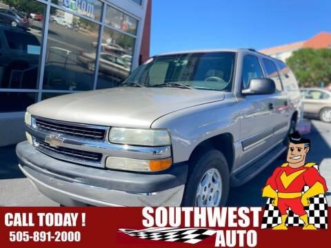 2004 Chevrolet Suburban for sale at SOUTHWEST AUTO in Albuquerque NM
