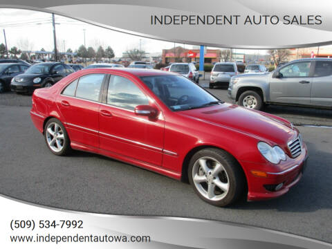 2005 Mercedes-Benz C-Class for sale at Independent Auto Sales in Spokane Valley WA