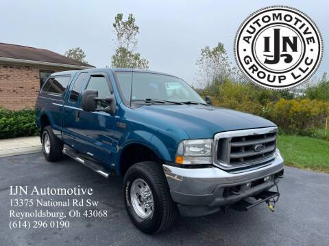 2002 Ford F-250 Super Duty for sale at IJN Automotive Group LLC in Reynoldsburg OH