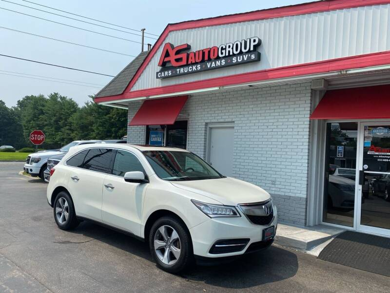 2014 Acura MDX for sale at AG AUTOGROUP in Vineland NJ