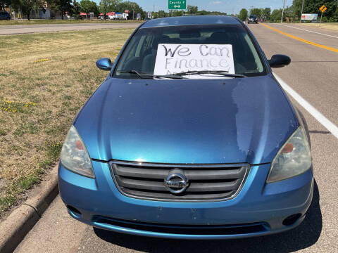 2003 Nissan Altima for sale at Continental Auto Sales in White Bear Lake MN