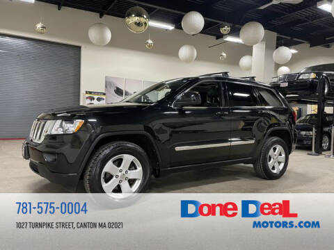 2012 Jeep Grand Cherokee for sale at DONE DEAL MOTORS in Canton MA