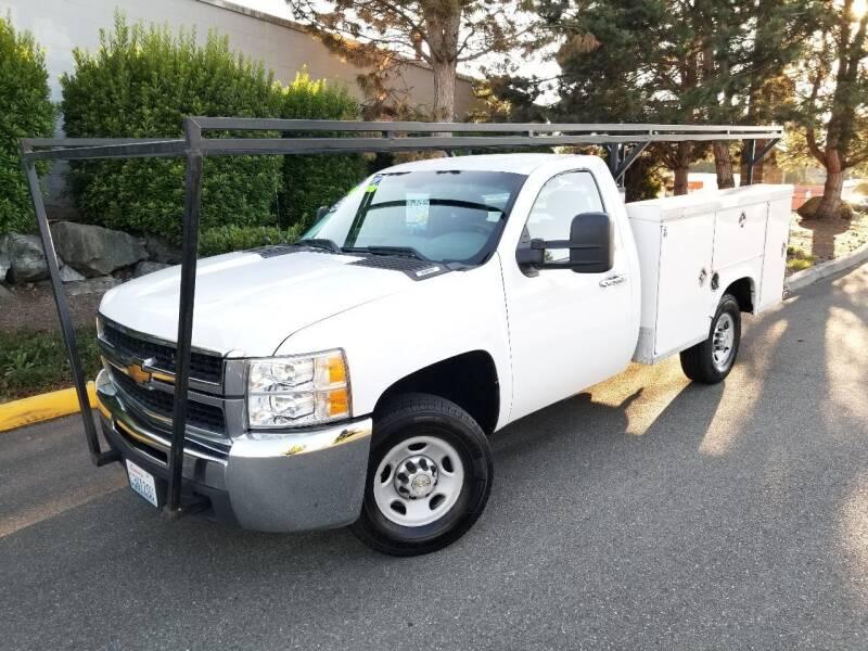 2010 Chevrolet Silverado 2500HD for sale at SS MOTORS LLC in Edmonds WA