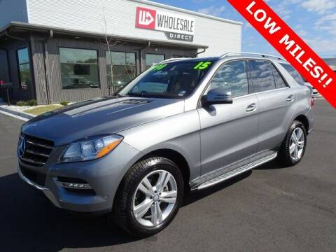 2015 Mercedes-Benz M-Class for sale at Wholesale Direct in Wilmington NC