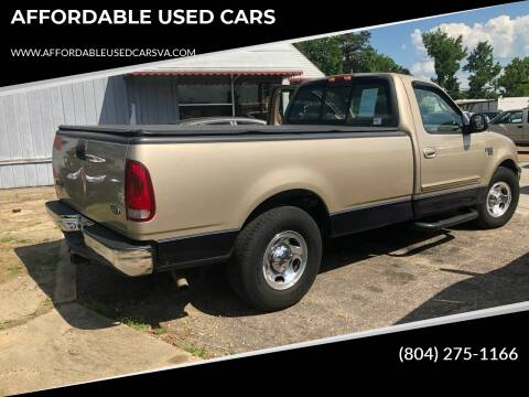 1999 Ford F-150 for sale at AFFORDABLE USED CARS in Richmond VA