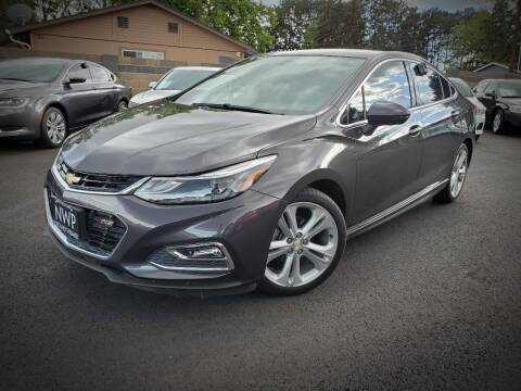 2017 Chevrolet Cruze for sale at Northwest Premier Auto Sales in West Richland And Kennewick WA