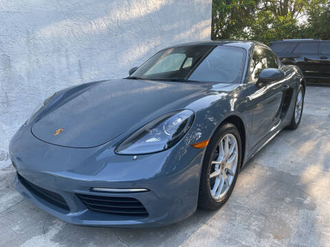 2017 Porsche 718 Cayman for sale at FIRST FLORIDA MOTOR SPORTS in Pompano Beach FL