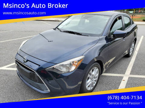 2016 Scion iA for sale at Msinco's Auto Broker in Snellville GA