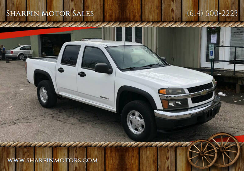 2004 Chevrolet Colorado for sale at Sharpin Motor Sales in Columbus OH