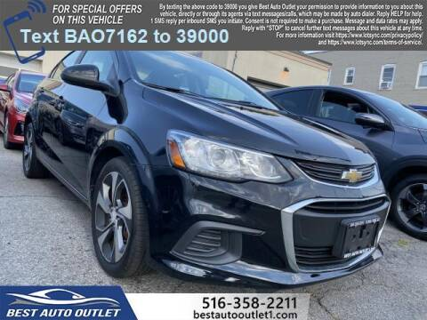 2017 Chevrolet Sonic for sale at Best Auto Outlet in Floral Park NY