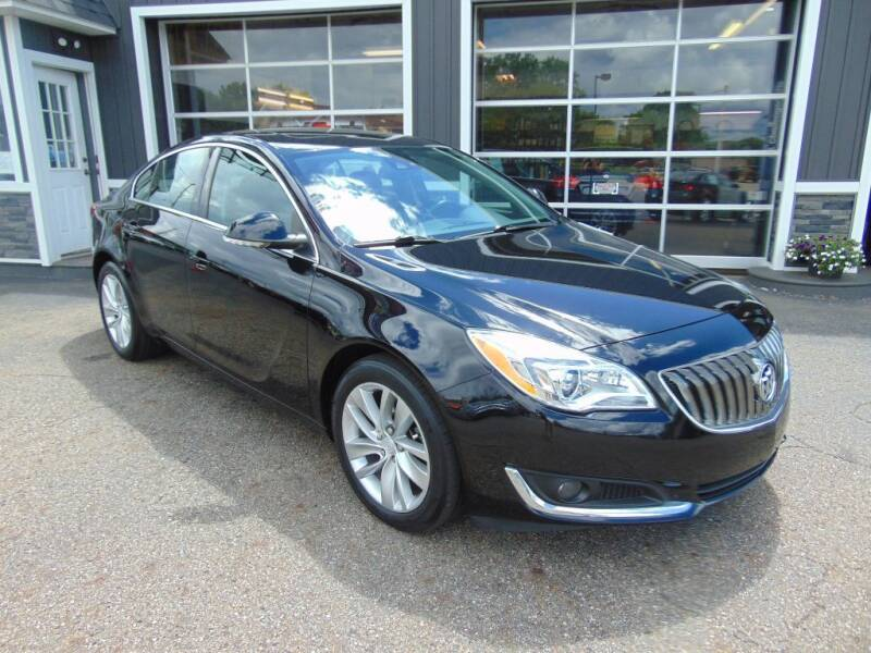 2017 Buick Regal for sale at Akron Auto Sales in Akron OH