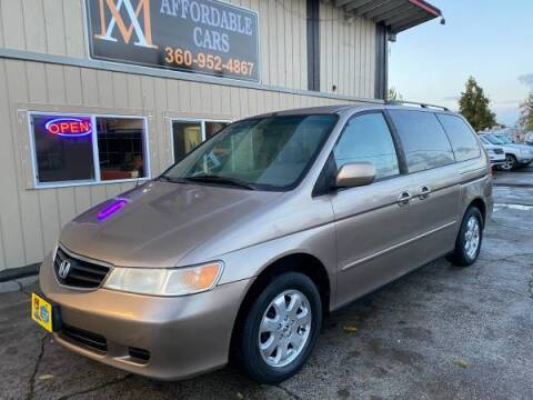 2004 Honda Odyssey for sale at M & A Affordable Cars in Vancouver WA