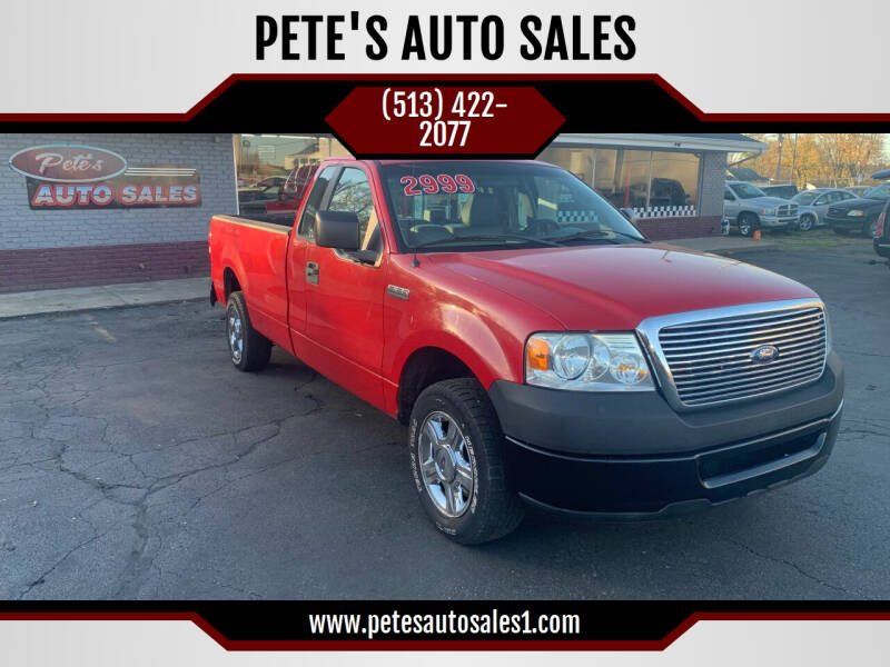 2006 Ford F-150 for sale at PETE'S AUTO SALES - Middletown in Middletown OH