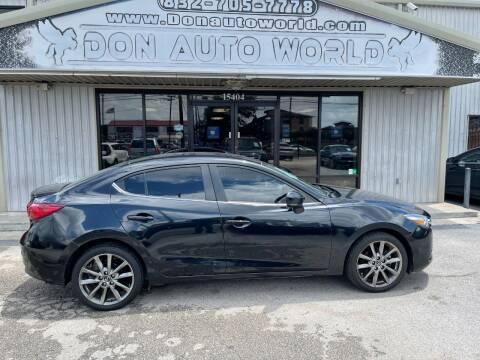 2018 Mazda MAZDA3 for sale at Don Auto World in Houston TX