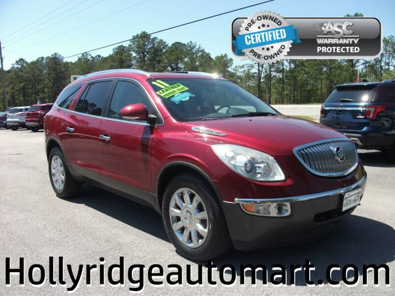 2011 Buick Enclave for sale at Holly Ridge Auto Mart in Holly Ridge NC