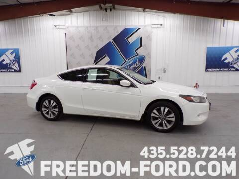 2010 Honda Accord for sale at Freedom Ford Inc in Gunnison UT