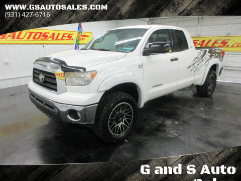 2008 Toyota Tundra for sale at G and S Auto Sales in Ardmore TN