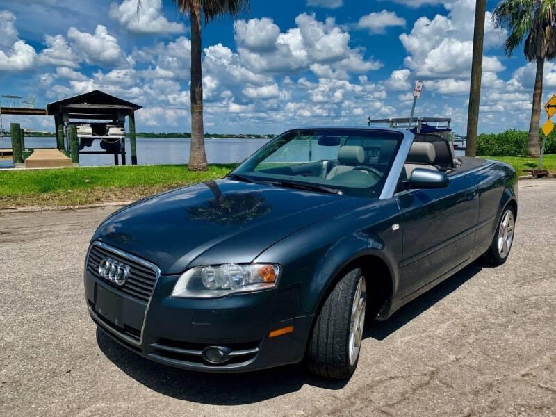 2007 Audi A4 for sale at Krifer Auto LLC in Sarasota FL
